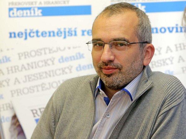 Volební lídr ČSSD vOlomouckém kraji Roman Váňa