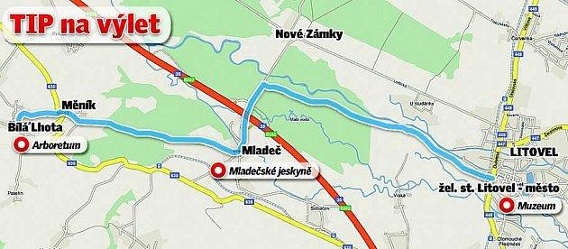 Výlet do Mladečských jeskyní a Bílé Lhoty