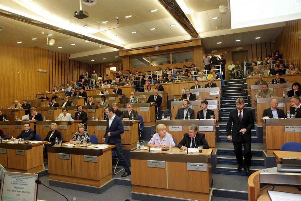 První zasedání nového olomouckého zastupitelstva