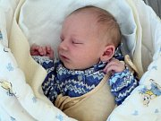 Matyáš Polášek, Litovel, narozen 27. září ve Šternberku, míra 45 cm, váha 2700 g