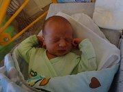 Robin Sommer, Přerov, narozen 12. ledna, míra 50 cm, váha 3730 g