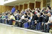 Házenkáři Litovle (v modrém) proti Novému Veselí