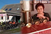 Jana Stružková končí po bezmála 30 letech v Masných krámech v Jívové, tradiční zastávce cyklistů a běžkařů.