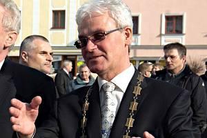 Starosta Litovle Zdeněk Potužák
