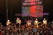 Koncert Mňágy a Žďorp na Hanáckém Woodstocku ve Velké Bystřici