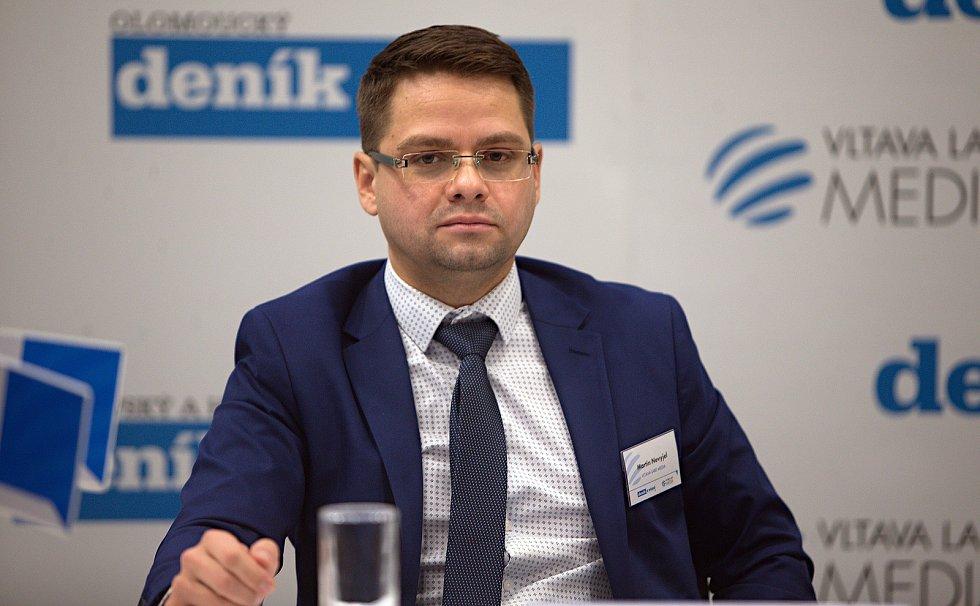 regionální šéfredaktor Deníku Martin Nevyjel