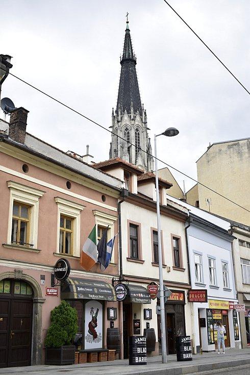 The BLACK STUFF Irish Pub v Olomouci najdete kousek od katedrály sv. Václava