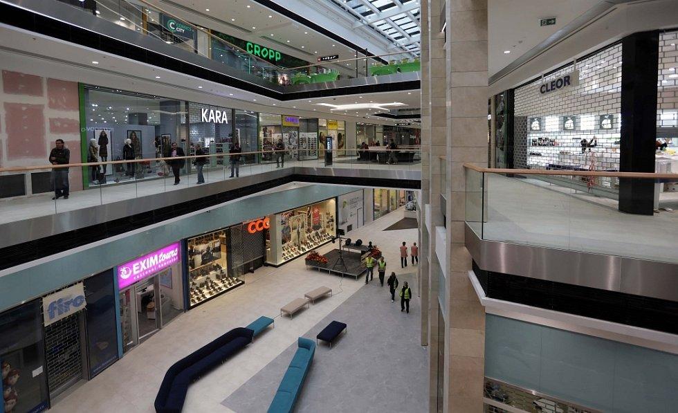 Interiér obchodní galerie Šantovka