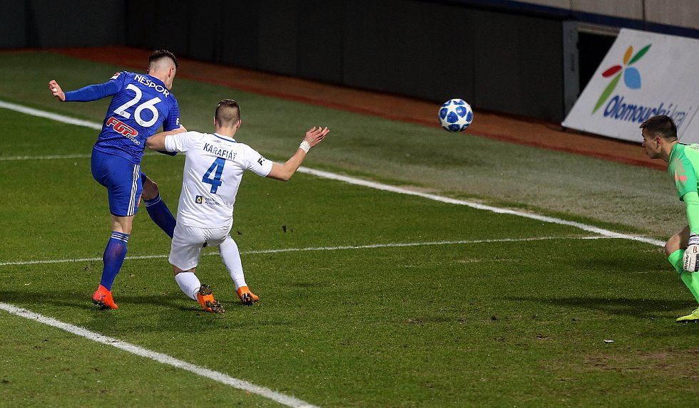 SK Sigma - FC Slovan Liberec - gól Nešpor