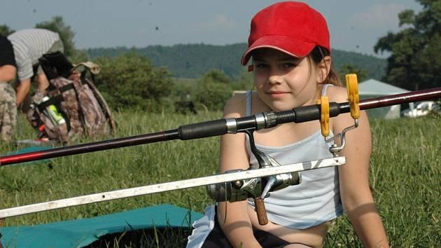 S prutem závodila osmiletá Alice Růžičková.