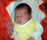 Anna Růžičková, Nasobůrky, narozena 3. září ve Šternberku, míra 53 cm, váha 3560 g