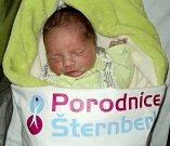 Oliver Stejskal, Šternberk, narozen 4. prosince ve Šternberku, míra 48 cm, váha 3070 g
