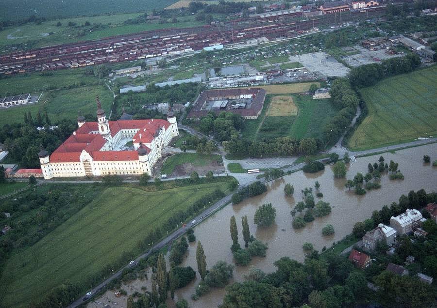 Olomouc, 8. července 1997 večer