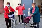 Lidé si v Brodku mohli přijít pro dezinfekci na obecní úřad.
