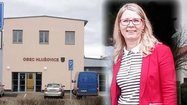 Nová starostka Hlušovic Eva Jurková