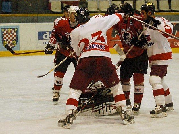 Hokejisty Olomouce čeká na domácím ledě další prvoligová bitva.