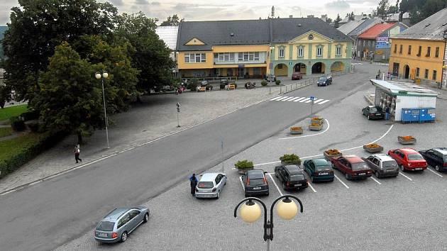 Náměstí v Moravském Berouně