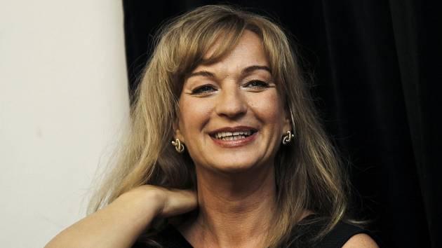 Herečka Sandra Pogodová