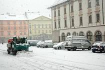 11.11. 2007. Do Olomouce přijel svatý Martin na bílém koni naposledy v roce 2007, kdy nasněžily čtyři centimetry sněhu. Na Horní náměstí proto musely vyjet odhrnovače
