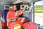 Nový vrtulník pro záchrannou službu Olomouckého kraje Eurocopter EC - 135T2+