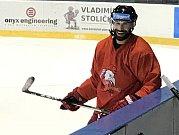 Zbyněk Irgl na tréninku HC Olomouc