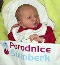 Tereza Kudelová, Mostkov, narozena 8. ledna ve Šternberku, míra 48 cm, váha 2960 g