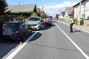 Následky dopravní nehody v Července