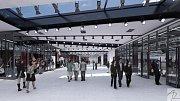 Velkorysý projekt přestavby olomouckého zimního stadionu na elegantní a multifunkční městskou halu