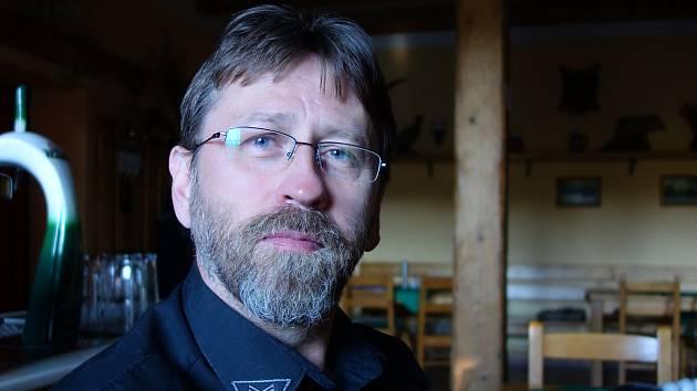Rostislav Hrdlička, vedoucí strážník Městské policie Moravský Beroun