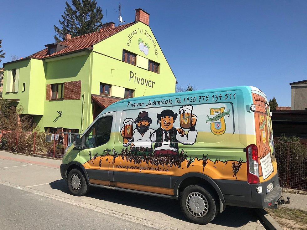 Pivovar Jadrníček v Náměšti na Hané