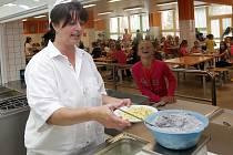 Školní jídelna a kuchyň Fakultní základní školy dr. Milady Horákové a Mateřské školy v Olomouci, Rožňavská 21.