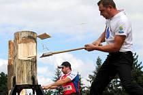 Závody dřevorubců - ilustrační foto