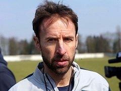 Trenér anglické reprezentace do 21 let Gareth Southgate