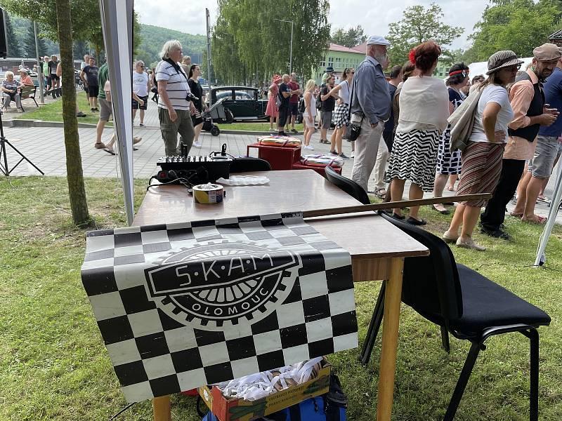 Burácení v Údolí – II. Setkání veteránů v Hlubočkách – Mariánském Údolí, 17. července 2021