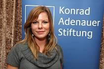Vyhlášení cen Nadace Konráda Adenauera - Veronika Kolesárová