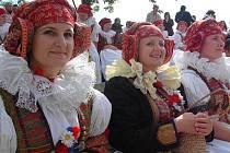 Setkání Hanáků na festivalu Lidový rok ve Velké Bystřici