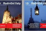 Nové logo a vizuální styl města Olomouce a jeho možné použití.