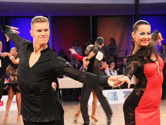 Mistrovství ČR v latinskoamerických tancích, které hostilo olomoucké výstaviště Flora.
