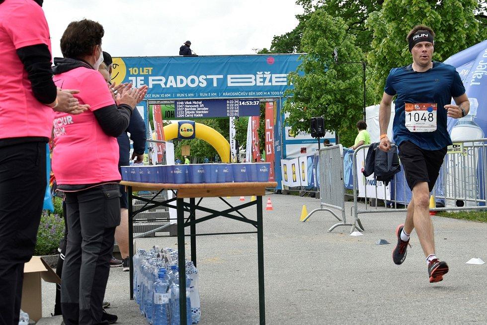 ČEZ RunTour v Olomouci, 22. 5. 2021
