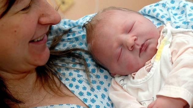 Prvním letošním miminkem na Olomoucku je Ludmila Mikulková z Hlásnice u Šternberka.