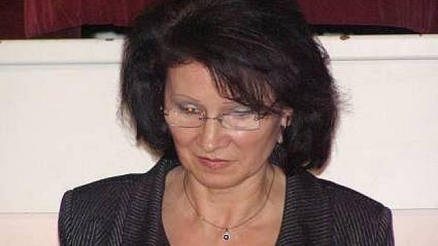 Zdenka Szukalská (KSČM), starostka Moravského Berouna