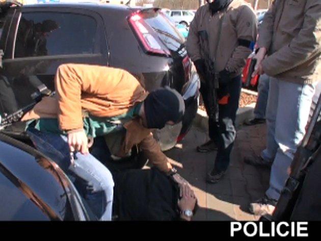 Zatčení Jána Bakalára 10. 3. 2014 v Praze