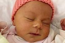 Pavlína Kosareva, Olomouc, narozena 20. listopadu, míra 48 cm, váha 2810 g