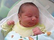Tadeáš Vrána, Nenakonice, narozen 3. února, míra 52 cm, váha 4200 g