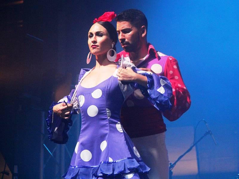 Madridský soubor Nuevo Ballet Espanol na galavečeru festivalu Colores Flamencos v Olomouci