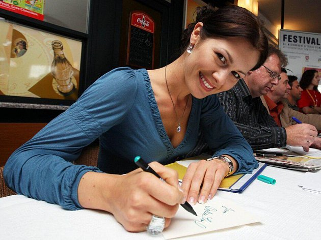 Jana Doleželová, vítězka Miss ČR 2004ze Šternberku