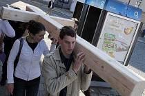 Křížová cesta mladých v Olomouci