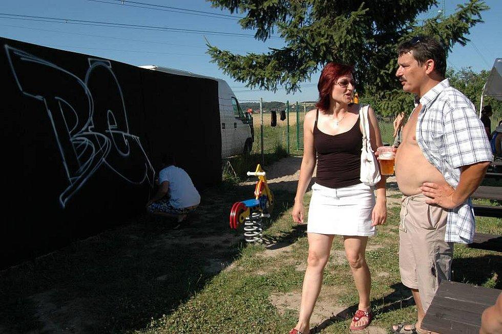 Akce Summer Beats na koupališti v Majetíně