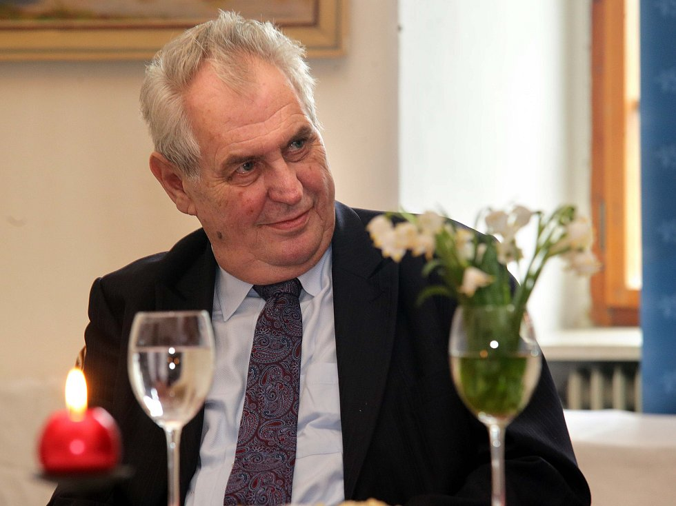 Prezident Miloš Zeman poskytl Deníku rozhovor