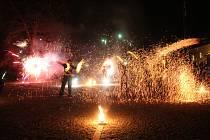 Ve Velké Bystřici pořádali Svatomartinské oslavy.